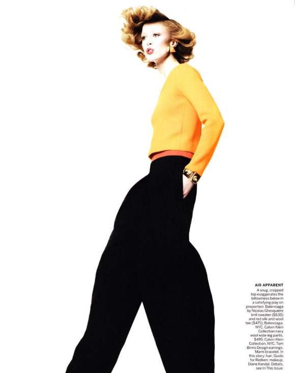 Raquel Zimmermann for Vogue US January 2011 4