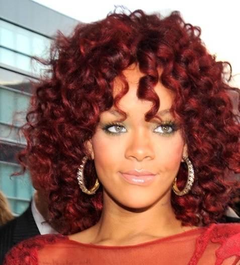 Excellent Curly Short Hair Rihanna Short Hair Fashions Short Hairstyles For Black Women Fulllsitofus