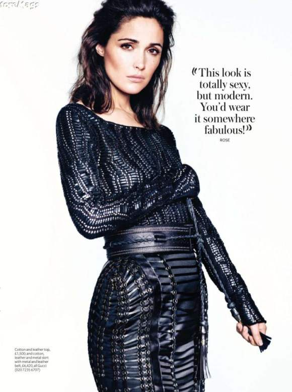 Rose Byrne For Instyle Uk Magazine January 2011