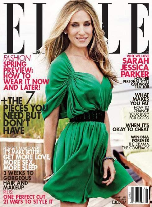 Sarah Jessica Parker for Elle US January 2011 2