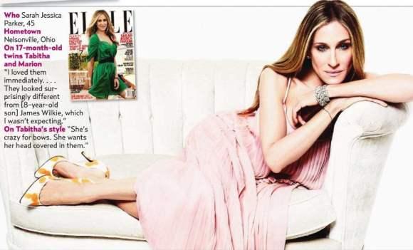 Sarah Jessica Parker for Elle US January 2011 7