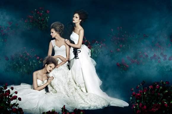 Sasha Zivile Julia for SingaporeBrides Fashion 2