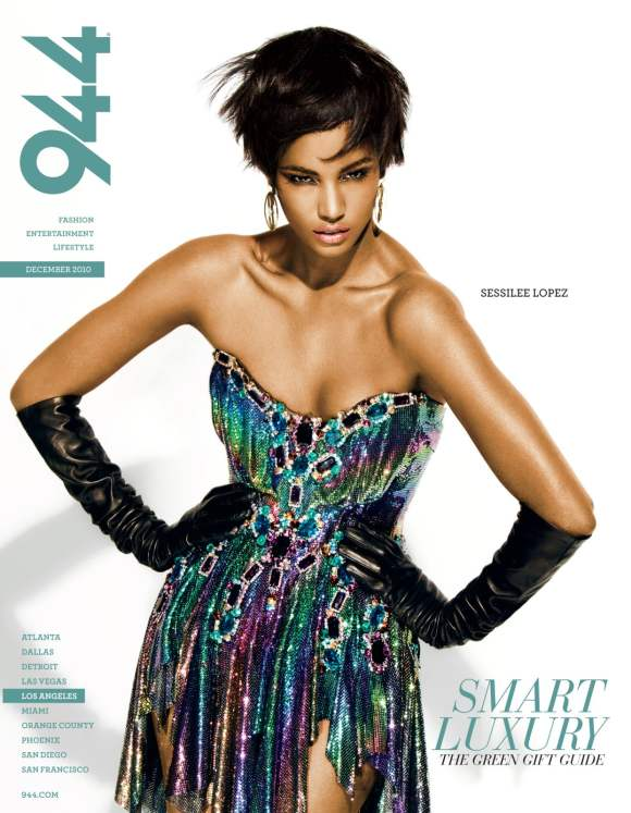 Sessilee Lopez 944 Magazine December 2010