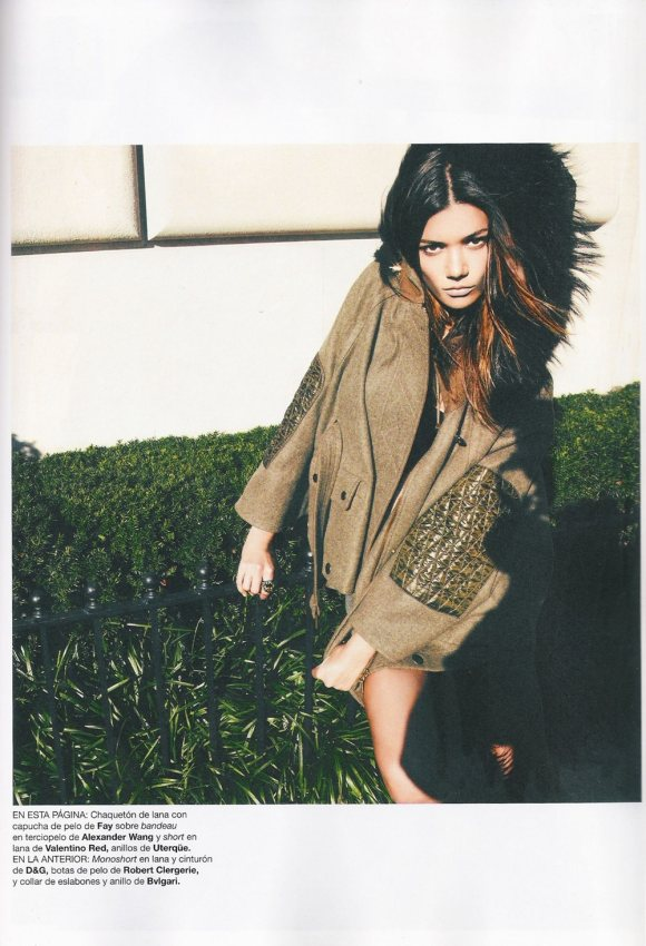 Sheila Marquez for Harpers Bazaar Espana January 2011 4
