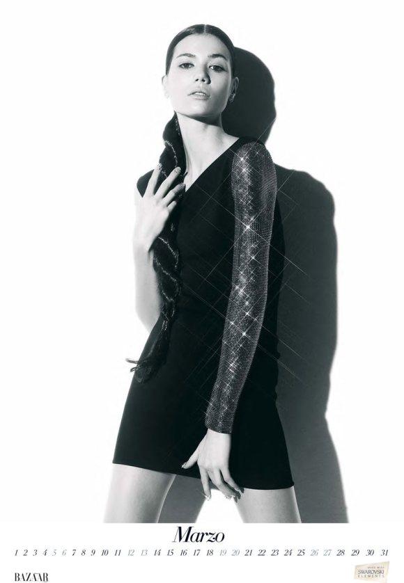 Sheila Marquez for Harpers Bazaar Spain 2011 Calendar 5