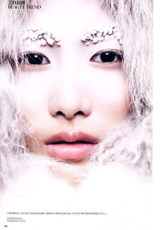 Shu Pei for Vogue China January 2011 3