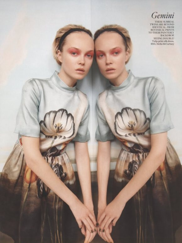 Siri Tollerod for Vogue UK December 2010 2