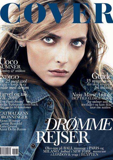 Snejana Onopka for Cover Denmark January 2011