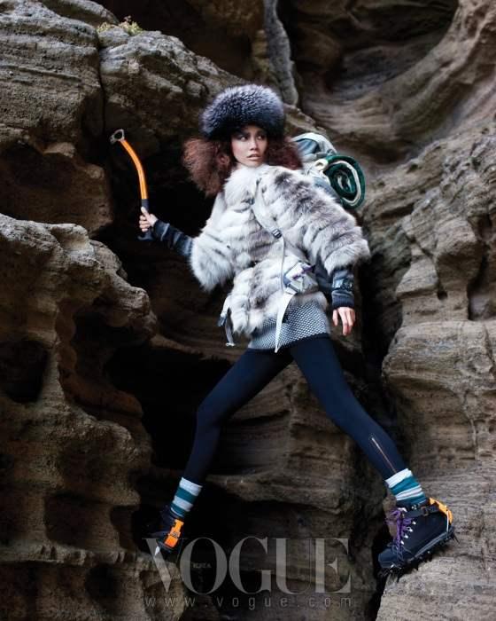 Song Ah for Vogue Korea December 2010 3