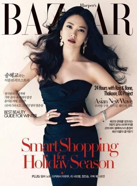 Song Hye Kyo for Harpers Bazaar Korea December 2010