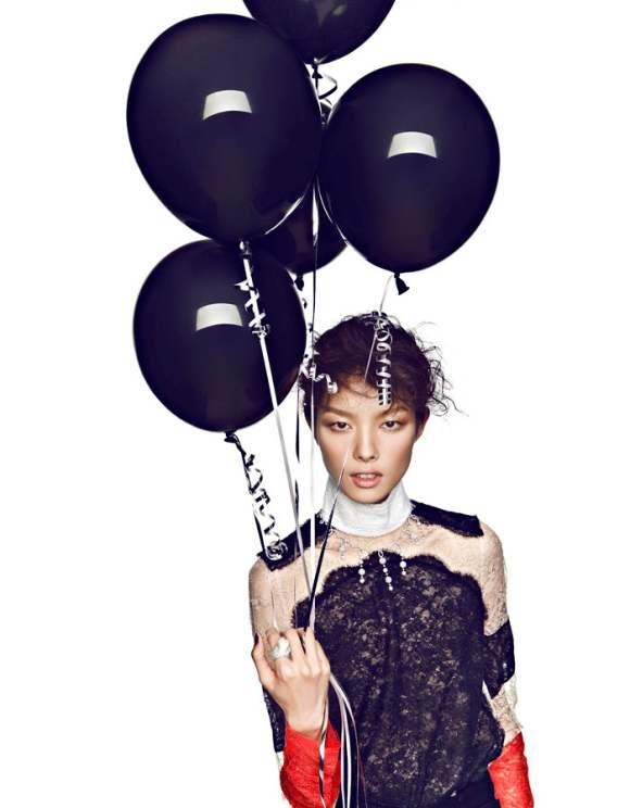 Sun Feifei Elle China December 2010 6