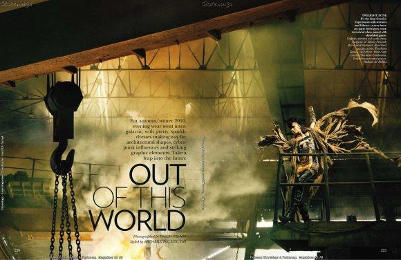 Tamara Moss for Vogue India December 2010 2