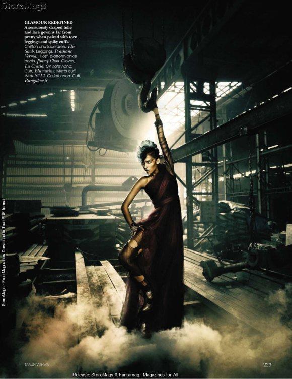 Tamara Moss for Vogue India December 2010 3