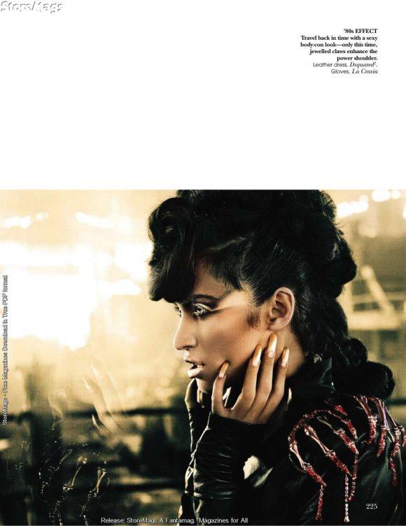 Tamara Moss for Vogue India December 2010 4