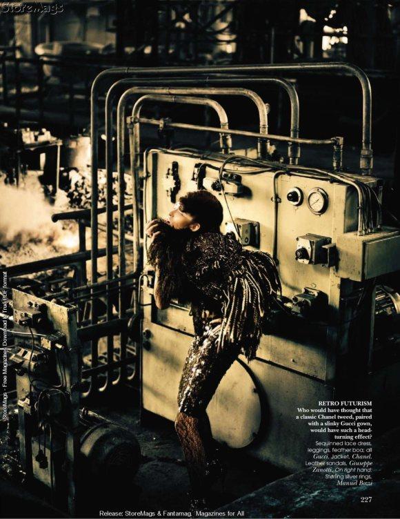 Tamara Moss for Vogue India December 2010 5