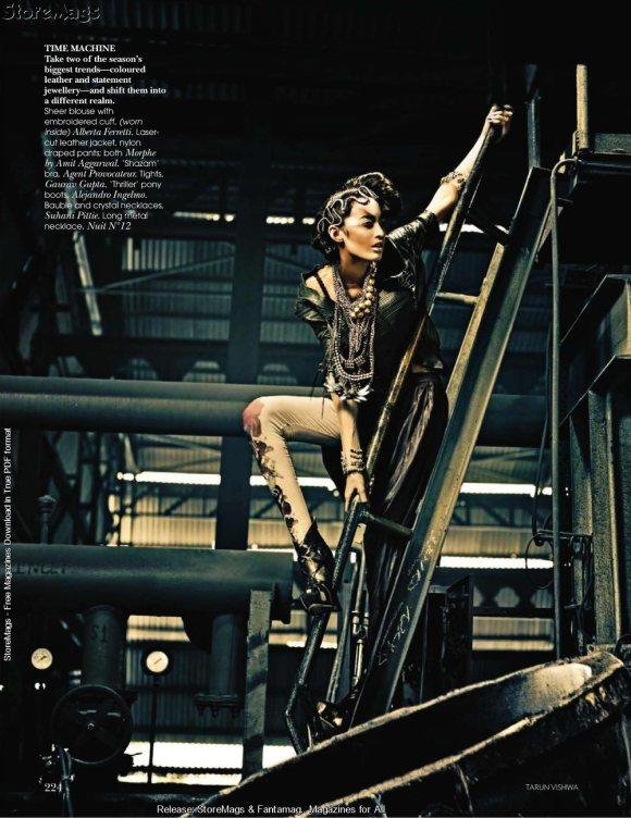 Tamara Moss for Vogue India December 2010 6
