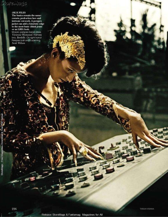 Tamara Moss for Vogue India December 2010 7