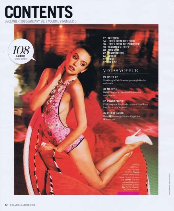 Vegas Magazine Dec January 2011