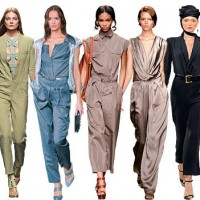 Womens Jumpsuit fashion trend styles materials occasions