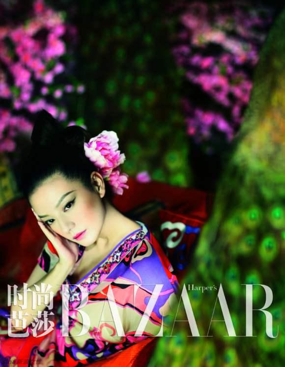Zhao Wei Harpers Bazaar China January 2011 2