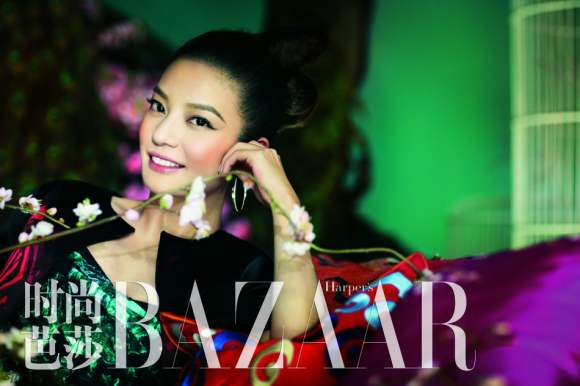 Zhao Wei Harpers Bazaar China January 2011 5