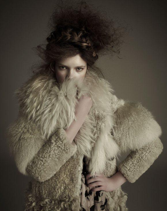 Zuzanna Stankiewicz for Glamour Poland 1