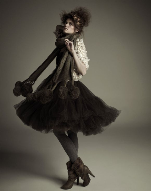 Zuzanna Stankiewicz for Glamour Poland 2