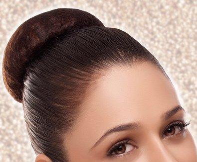 hair bun indian hairstyle