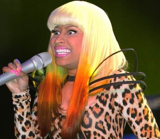 how long is nicki minaj real hair. how long is nicki minaj real