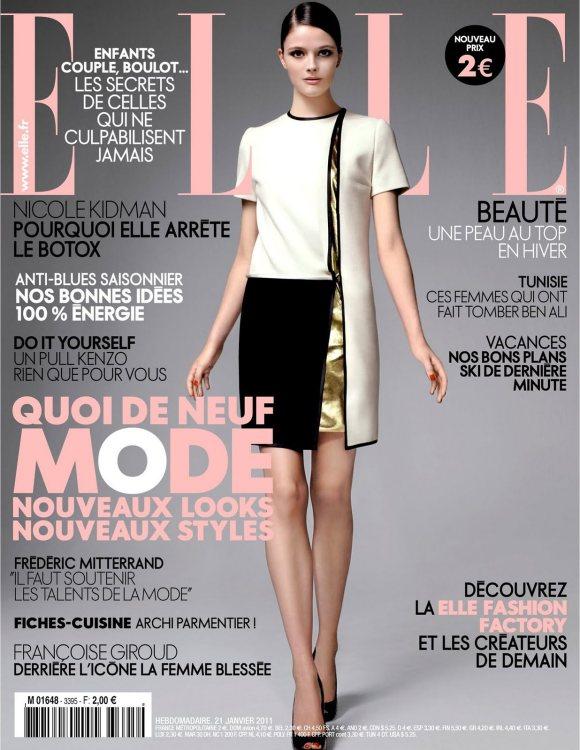 Addison Gill for Elle France January 2011