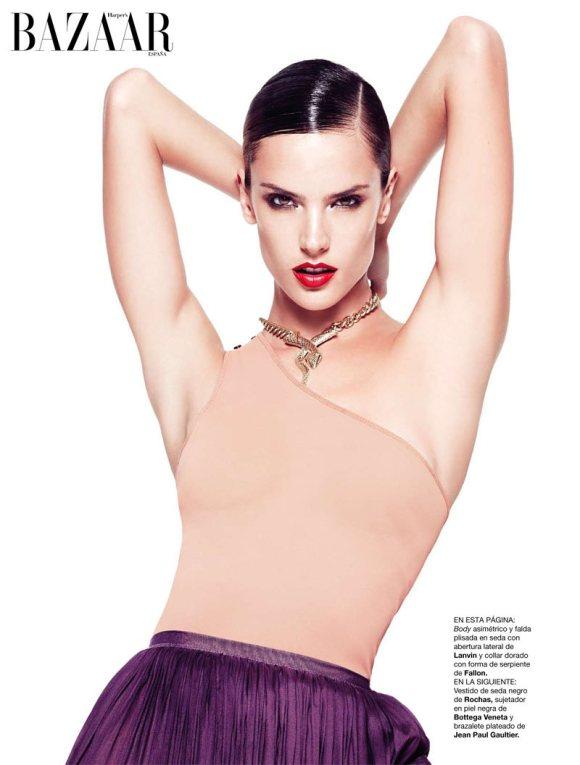 Alessandra Ambrosio Harpers Bazaar Spain Feb 2011 7