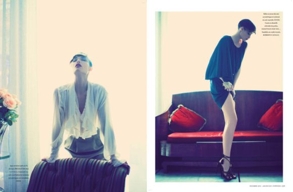 Amy Hanson for LOfficiel Maroc 2