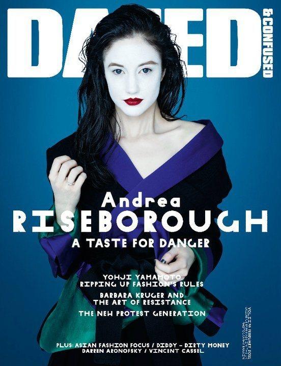 Andrea Riseborough Dazed Confused February 2011