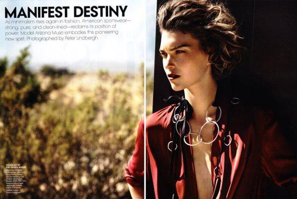 Arizona Muse Vogue US February 2011 1