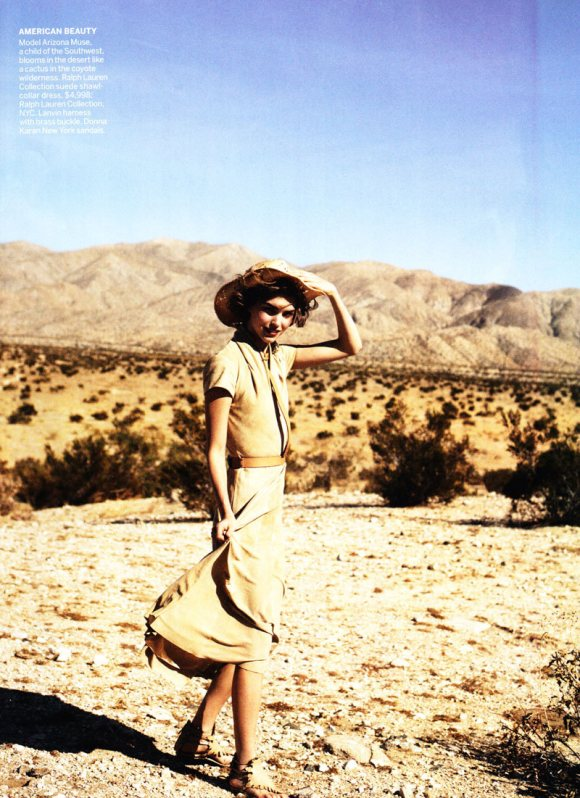 Arizona Muse Vogue US February 2011 2