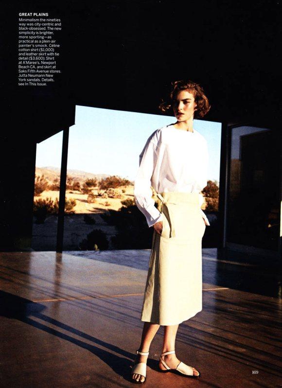 Arizona Muse Vogue US February 2011 7