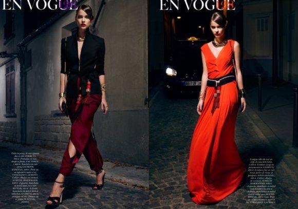 Barbara Palvin Vogue Paris February 2011 1