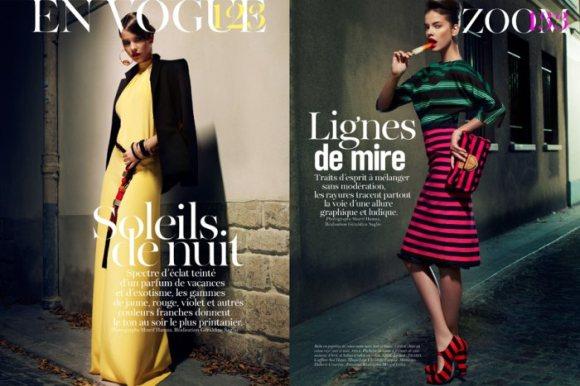 Barbara Palvin Vogue Paris February 2011 2