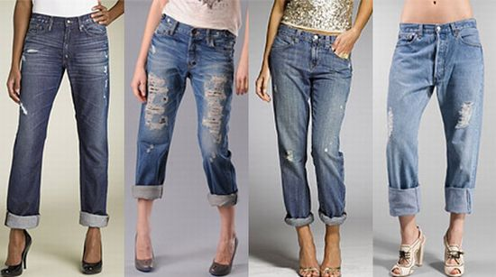 How to wear Boyfriend jeans & Trousers