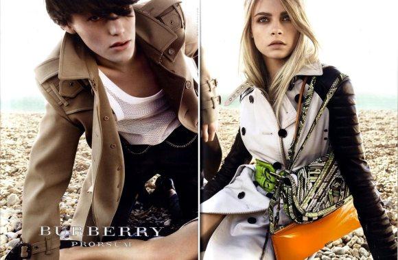 Burberry Prorsum S S 2011 ad Campaign