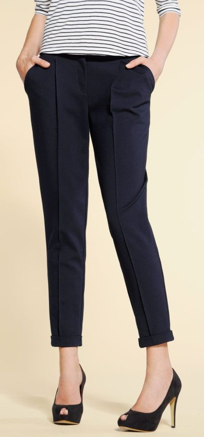 Capris-crop pants for tall and thin