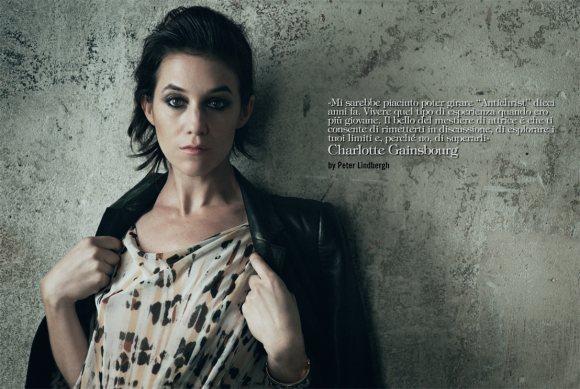 Charlotte Gainsbourg Vogue Italia January 2011 1
