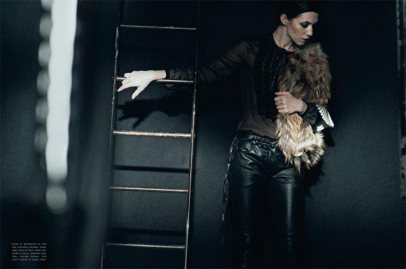 Charlotte Gainsbourg Vogue Italia January 2011 2