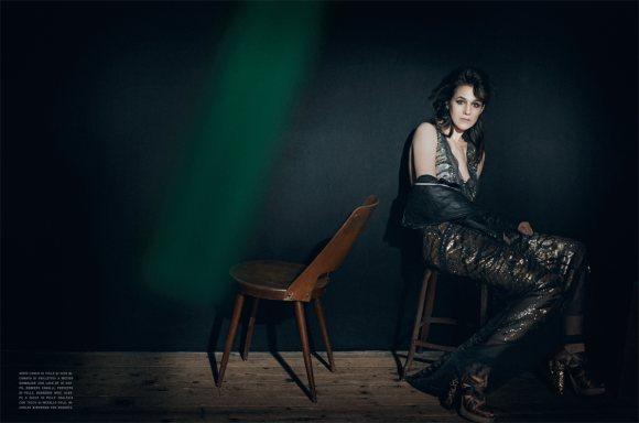 Charlotte Gainsbourg Vogue Italia January 2011 3