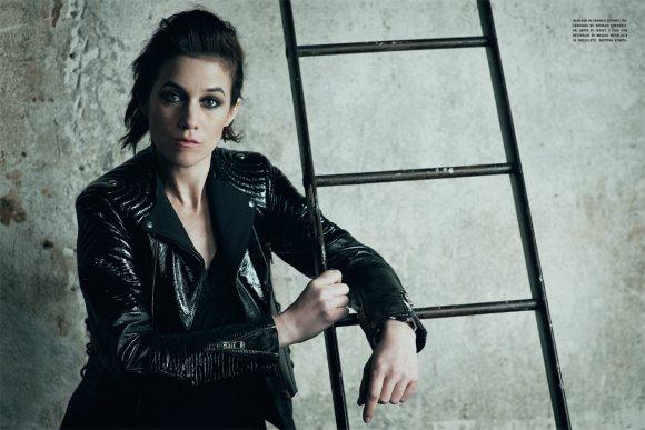Charlotte Gainsbourg Vogue Italia January 2011 4