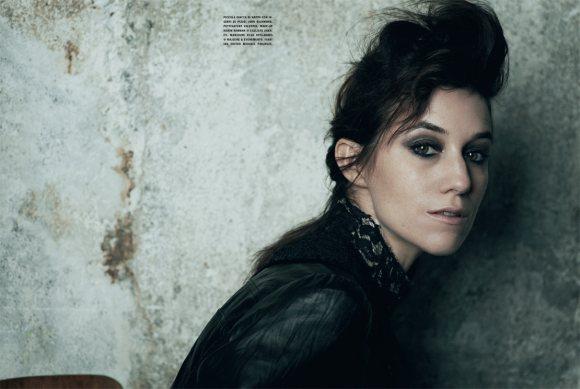 Charlotte Gainsbourg Vogue Italia January 2011 6