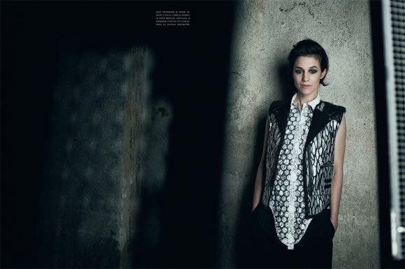 Charlotte Gainsbourg Vogue Italia January 2011 7