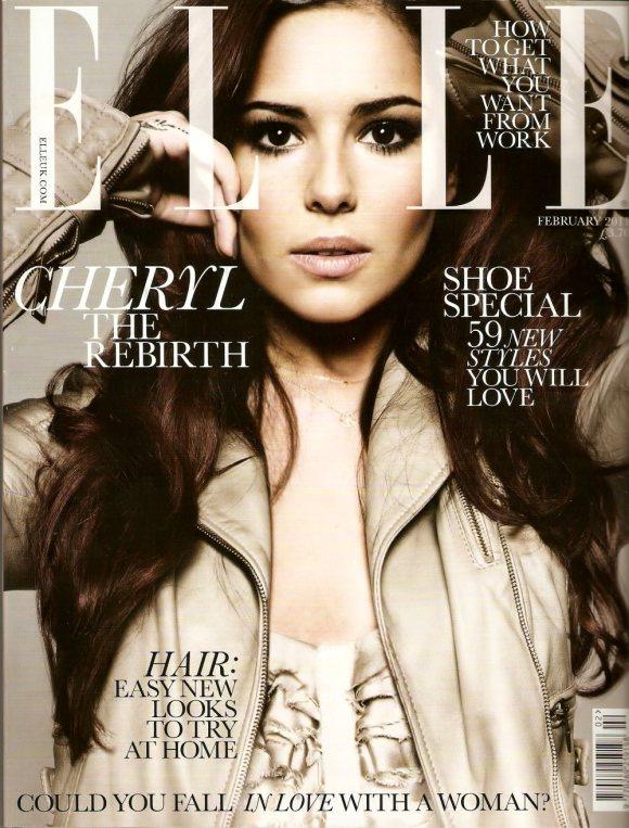 Cheryl Cole for Elle UK Febreuary 2011 1