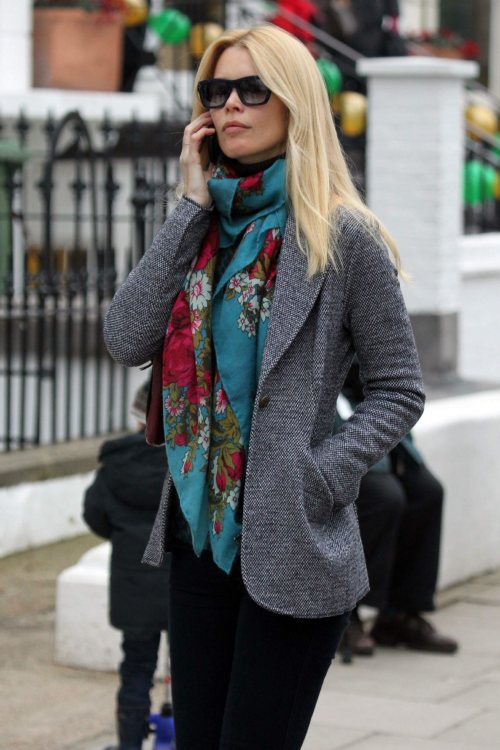 Claudia Schiffer Classy Street Style