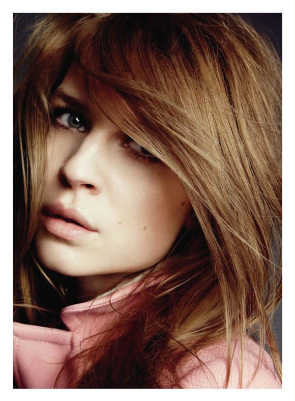 Clemence Poesy Marie Claire US February 2011 1
